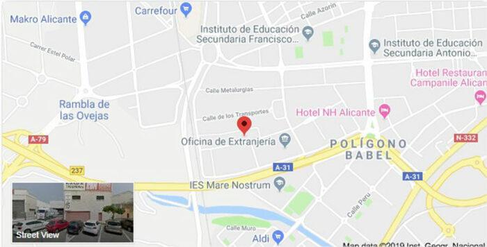 Calle-de-las-Artes-Gráficas-10-03008-Alicante-Alacant